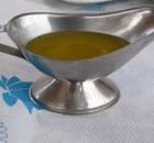 Lemon oil dressing