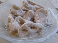 Almond sweets from Lesvos