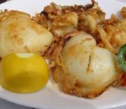 Fried cuttlefish
