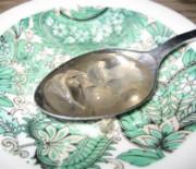 Lemon tree flower spoon sweet