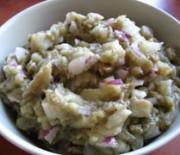 Santorinian eggplant salad dip