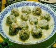 Meatballs avgolemono