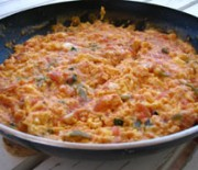 Omelet with Fresh Tomatoes