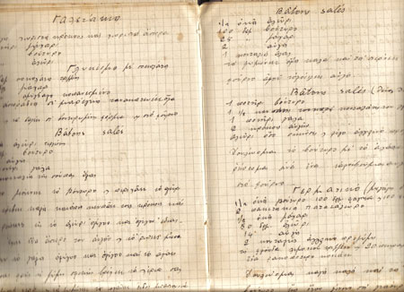 Aunt julies recipe book greek recipes greek food greek recipe recipe book forumfinder Choice Image